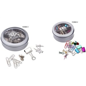 Magnetic Pin & Clip Tin - 2-1/2
