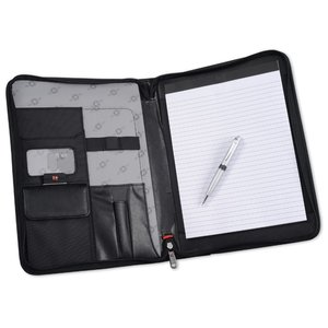 Wenger Deluxe Ballistic Zippered Padfolio Set Image 3 of 4