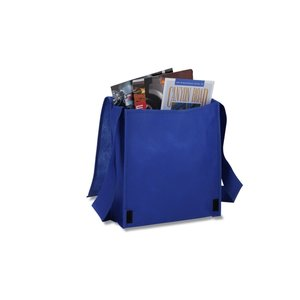 Polypropylene Messenger Tote Image 2 of 2