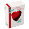 """View Image 2 of 3 of Heart Shatterproof Ornament - 4"""""""