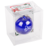 """View Image 2 of 3 of Hand Blown Glass Ornament - 3"""""""
