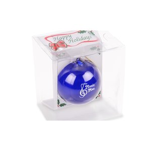 Hand Blown Glass Ornament - 3