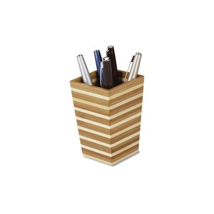 Zen Bamboo Pen Holder Image 1 of 1