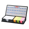View Extra Image 2 of 2 of Memo Box with Adhesive Notes and Calendar - 24 hr