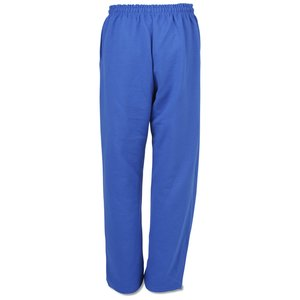 Gildan 50/50 Open Bottom Sweatpants - Applique Twill Image 1 of 2
