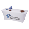 View Image 5 of 7 of Hemmed UltraFit Table Cover - 6'