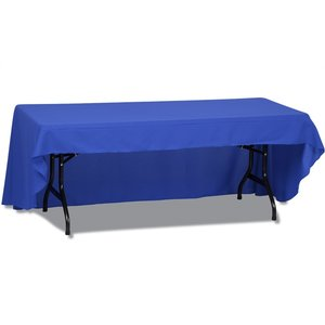 Open-Back Polyester Table Throw - 8'