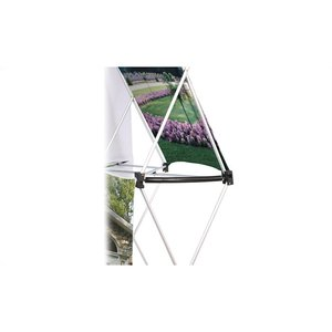 10' Geometric Dye-Sublimated Pop-Up Display Kit Image 4 of 6