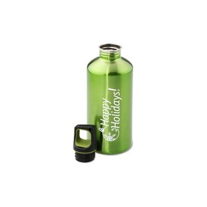h2go Stainless Bottle - 20 oz. - Happy Holidays - Color Image 2 of 2