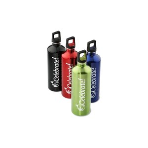 h2go Stainless Bottle - 24 oz. - Celebrate - Color Image 2 of 2