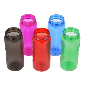 Mini Mountain Sport Bottle with Tethered Lid - 22 oz. Image 2 of 3