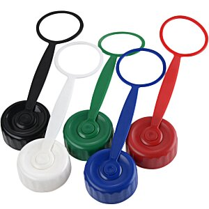 Mini Mountain Sport Bottle with Tethered Lid - 22 oz. Image 3 of 3