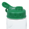 View Extra Image 2 of 2 of Clear Impact Mini Mountain Bottle with Flip Lid - 22 oz