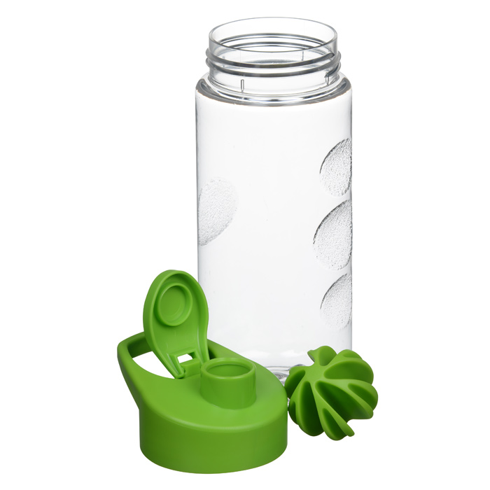 Protein Shaker Lid: 4imprint.com: Clear Impact Mini Mountain Bottle With Flip