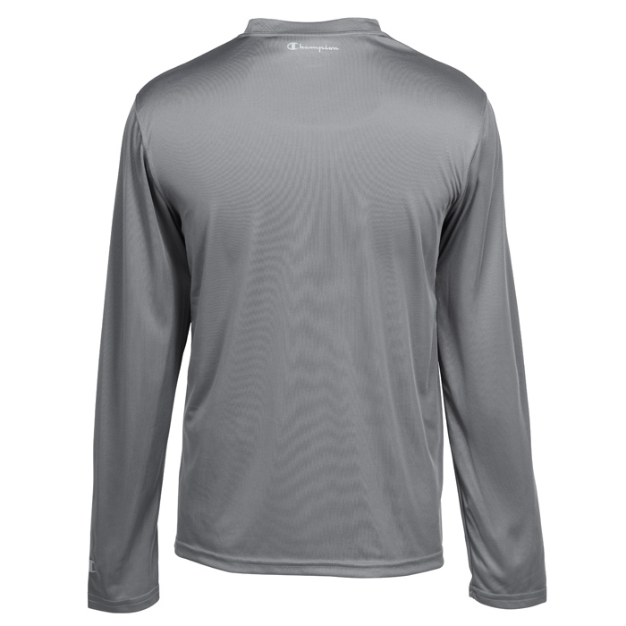 e57875631f13 4imprint.com  Champion Double Dry Performance LS T-Shirt - Men s 104344-M-LS