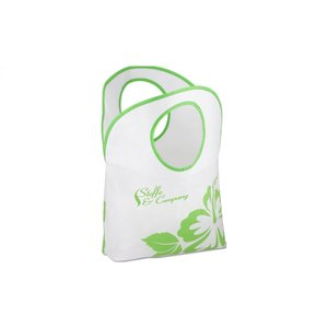 Polypropylene Hobo Tote - Flower Image 1 of 2