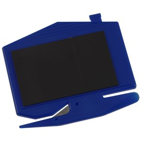 Zippy Magnetic Business Card Letter Opener – House - Opaque Image 3 of 3