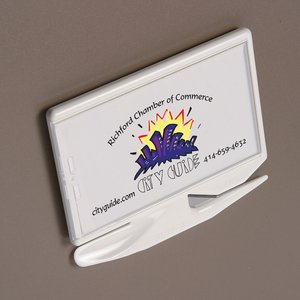 Zippy Magnetic Business Card Letter Opener – Opaque Image 1 of 3
