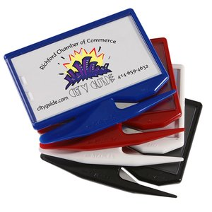 Zippy Magnetic Business Card Letter Opener – Opaque Image 3 of 3