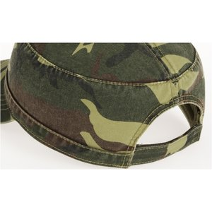 Military Cap - Embroidered - Camo Image 1 of 1