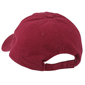 Brushed Washed Cotton Twill Cap - Embroidered Image 1 of 2