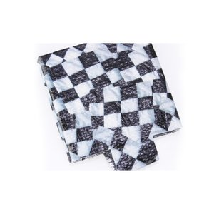 PhotoGraFX Can Holder - Checker Flags - Closeout Image 1 of 1