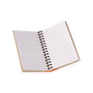 Mini Recycled Color Spine Notebook - Closeout Image 1 of 2