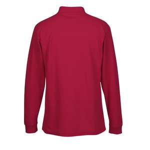 Soft Touch Pique LS Sport Shirt - Men's Image 1 of 1