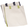 View Image 2 of 2 of Cotton Canvas World Tote