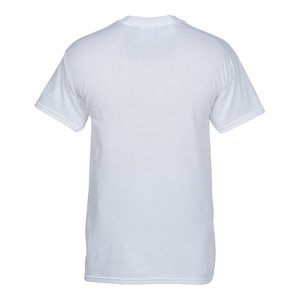 Gildan 5.3 oz. Cotton T-Shirt – Men's - Screen – White Image 1 of 1