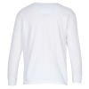 View Extra Image 1 of 1 of Gildan 5.3 oz. Cotton LS T-Shirt - Youth - White