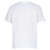 View Extra Image 1 of 1 of Gildan 5.3 oz. Cotton T-Shirt - Youth - Screen - White - 24 hr