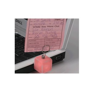 Glowing Cube Memo Holder - Closeout Image 1 of 1
