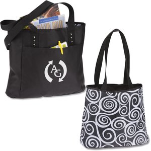 Meribel Reversible Tote - Embroidered Image 1 of 3