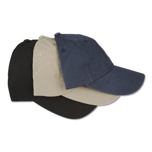 Brushed Cotton Twill Cap - Embroidered Image 1 of 2
