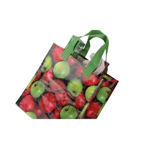 PhotoGraFX Grocery Tote - Apples Image 2 of 2