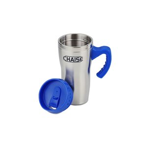 Get-A-Grip Stainless Travel Mug - 16 oz. Image 1 of 1