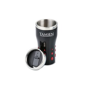 Stainless Dot Matrix Tumbler - 16 oz.
