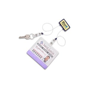 Dual Strap Retractable Badge Holder