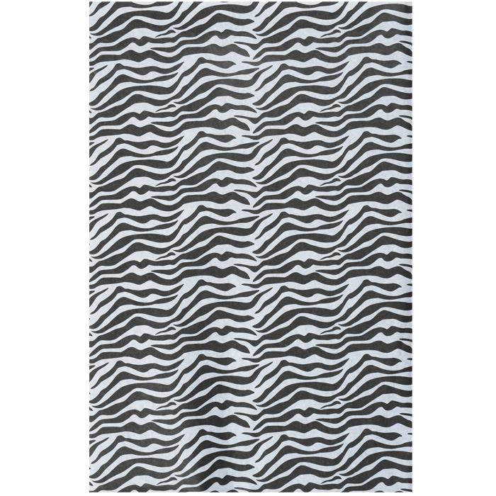 zebra tissue paper