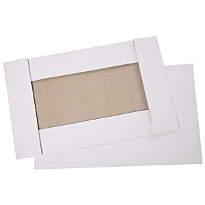 "Apparel Gift Box - 9-1/2"" x 15"" x 2"" - Gloss White"