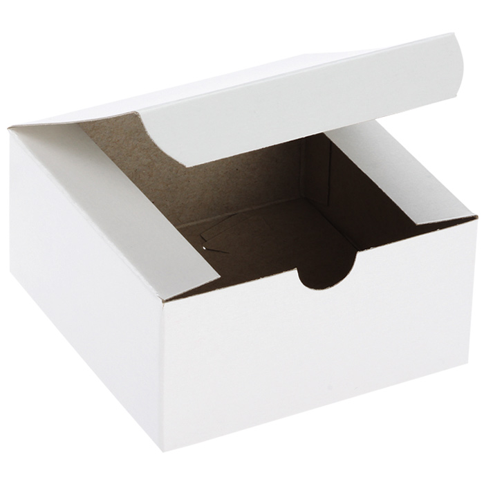 4 x 4 x 7 White Gloss Gift Box