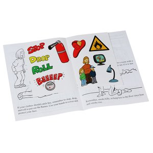 Learn About Fire Safety Sticker Book Image 1 of 1