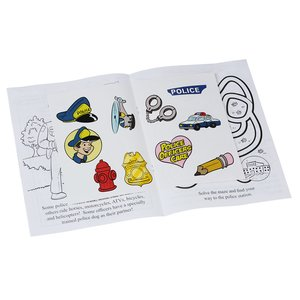 Police Officers Are Your Friends Sticker Book Image 1 of 1