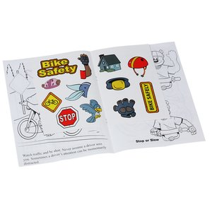 Bike Safety Sticker Book Image 1 of 1