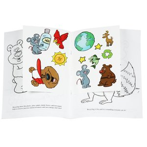 Eco-Friendly Fun Sticker Book Image 1 of 1