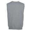 View Extra Image 2 of 2 of Cotton Wrinkle Resist V-Neck Sweater Vest - Men's