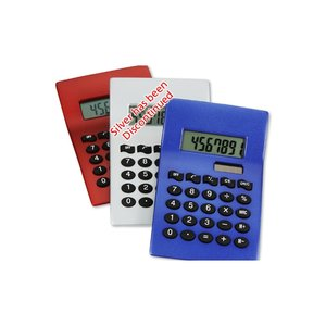 Curvaceous Metal Calculator - Closeout Image 1 of 1