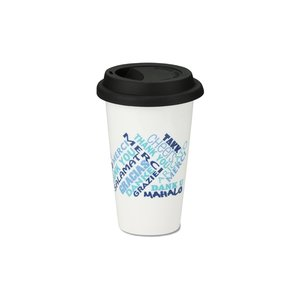 Terra Coffee Cup - 11 oz. - Thanks Image 1 of 2