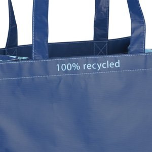 Expressions Grocery Tote - Blue Image 1 of 4